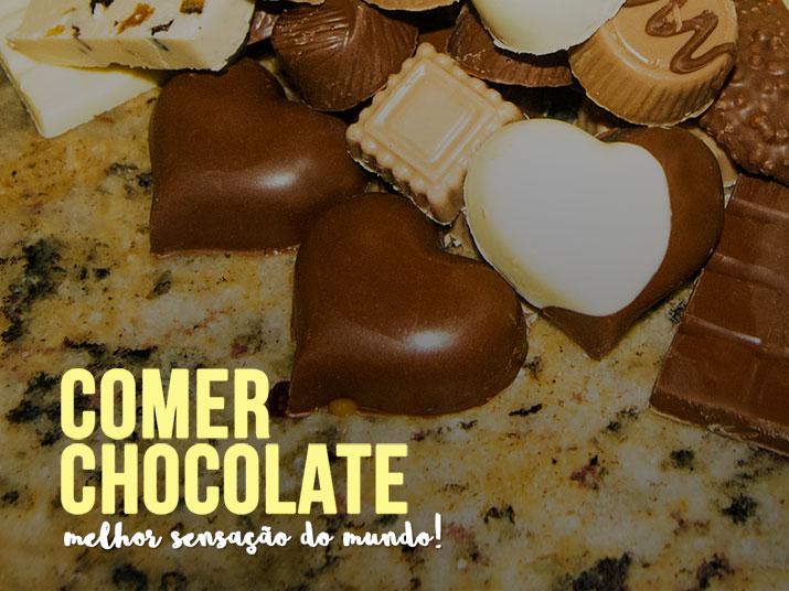 Comer Chocolate - Melhor Coisa do Mundo