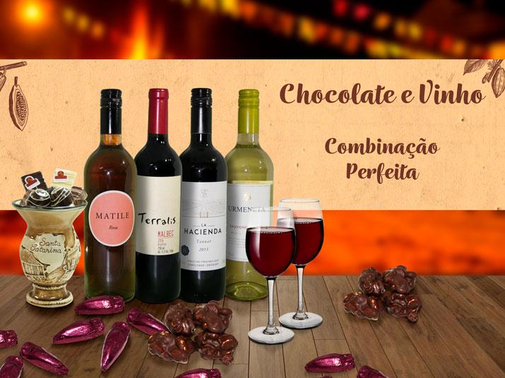 Chocolate e Vinho - Combinação Perfeita